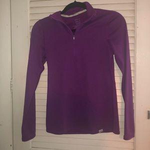 Patagonia women's XS purple quarter zip